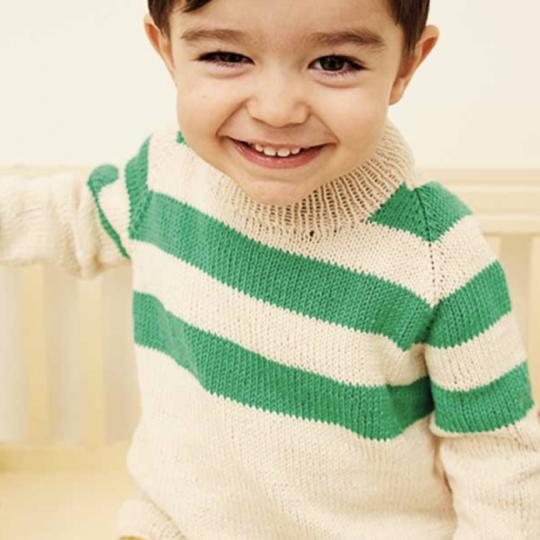 Drenge raglan sweater
