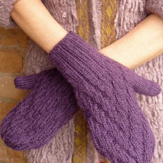 Zig Zag Snood and Mittens
