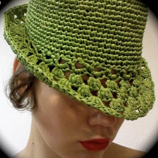 Raffia Hat Crochet