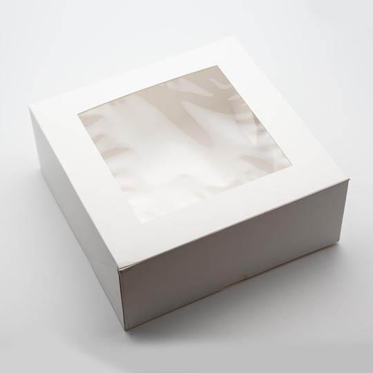 Kremke Soul Wool Gift Box with transparent Top 17 x 17 x 7,7 cm