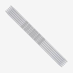 Addi Double Pointed Needles Aluminium 201-7 5mm -20cm