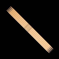Addi Double Pointed Needles Bamboo 501-7 5,5mm_20cm