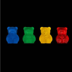 Addi Bear Shaped Stitch Holders 402-2 Einheitsgröße