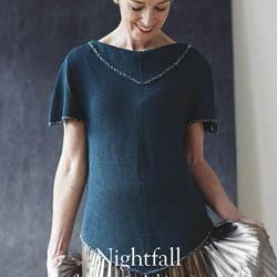 Erika Knight Printed Patterns Studio Linen Nightfall ENG