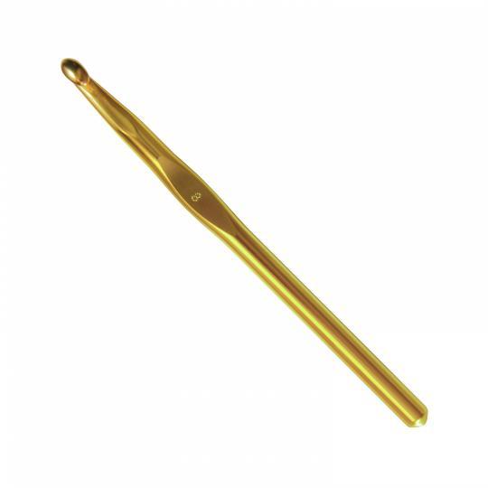 Addi  245-7ADDI Wollhäkelnadeln Gold