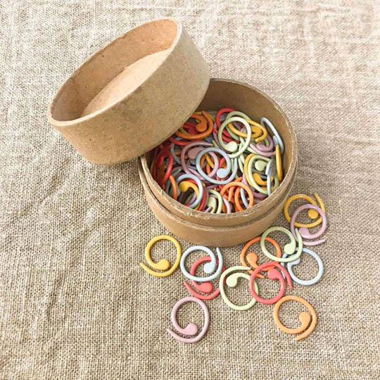 CocoKnits Colored Split Ring Markers Medium