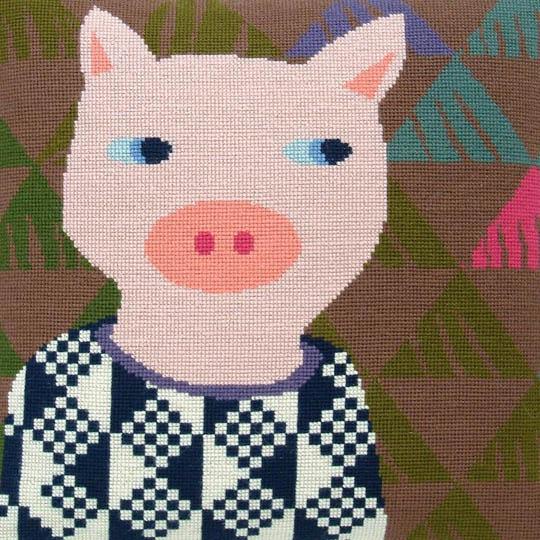 Fru Zippe Pillow Pig 740293 Schwein