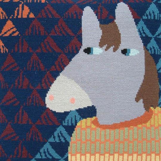 Fru Zippe Horse Pillow 740294 Pferd