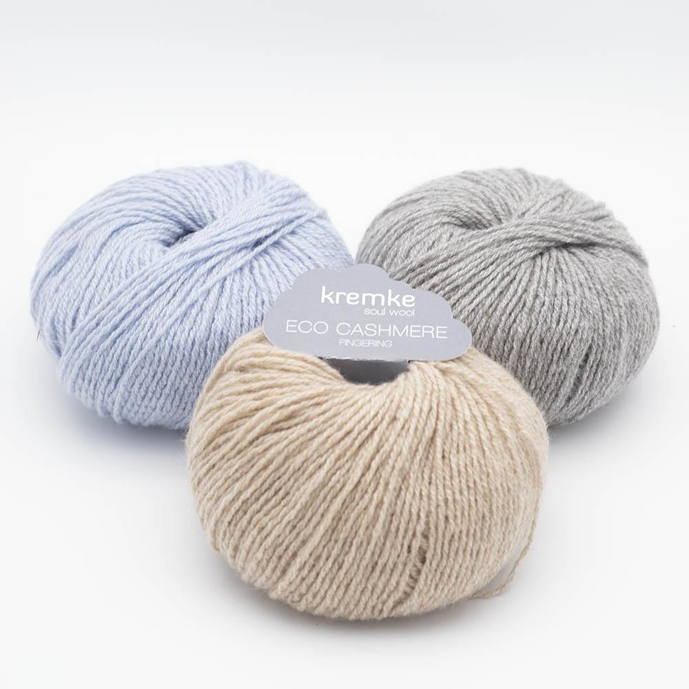 Kremke Soul Wool Eco Cashmere Fingering 25g