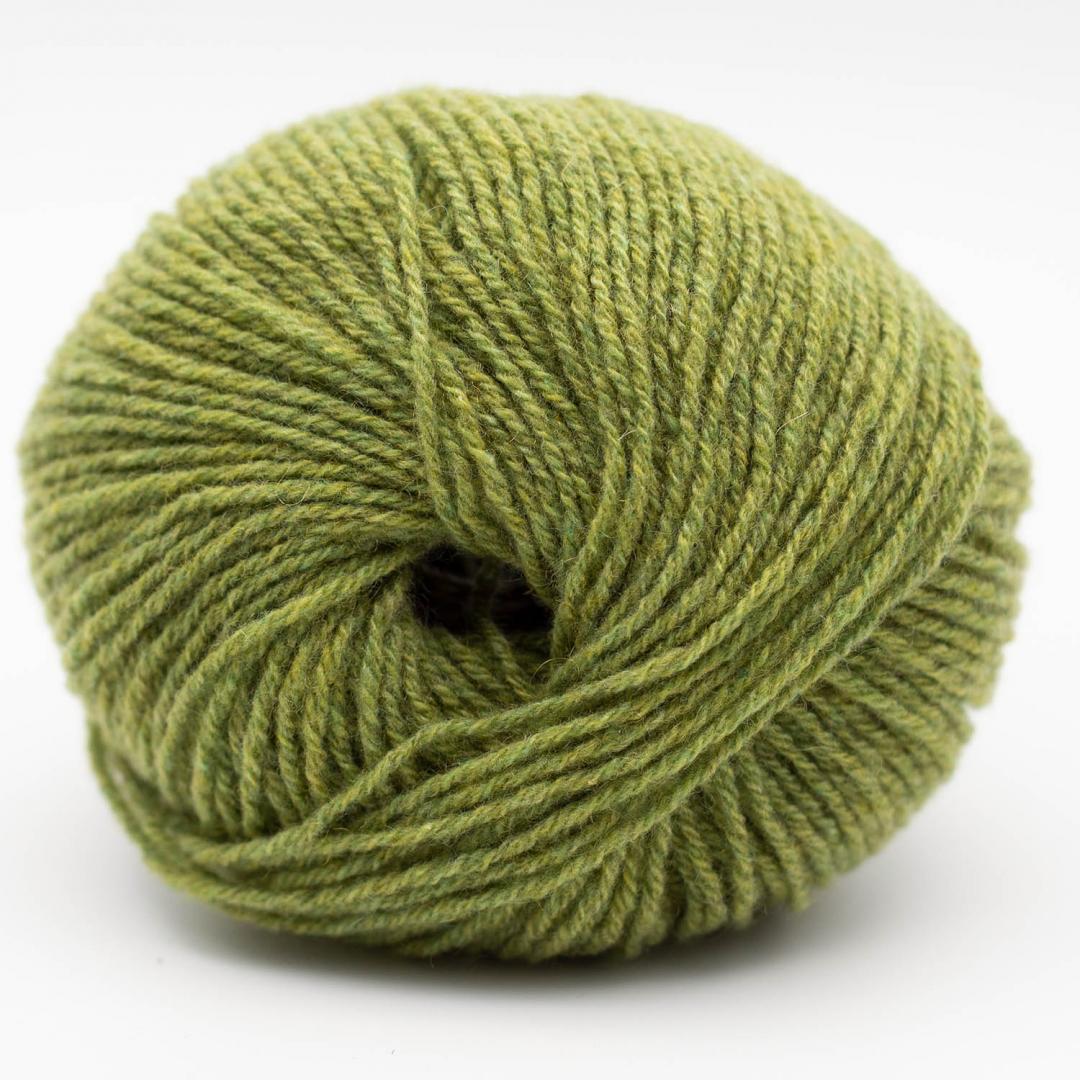 Kremke Soul Wool Eco Cashmere Fingering 25g Grasgrün
