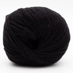 Kremke Soul Wool Eco Cashmere Fingering 25g Schwarz