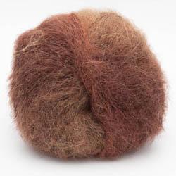 Kremke Soul Wool Baby Silk Lace Rostbraun