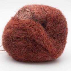 Kremke Soul Wool Baby Silk Fluffy varigated Dunkelrot Partie 0