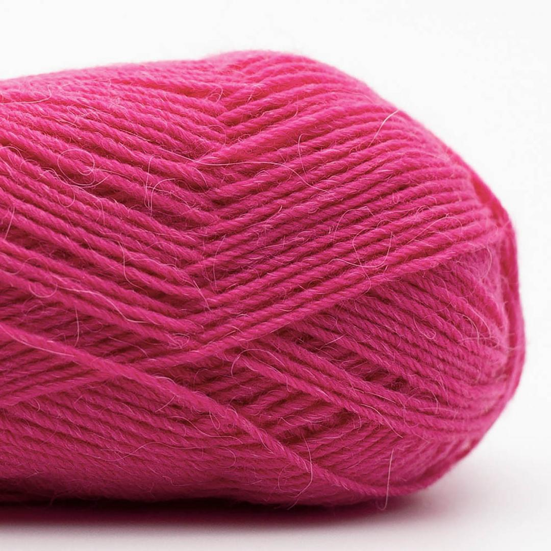 Kremke Soul Wool Edelweiss Alpaka 4-fach 25g Violettrosa
