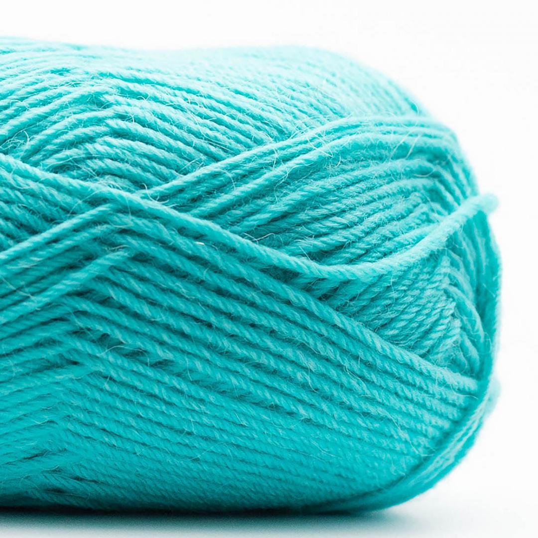 Kremke Soul Wool Edelweiss Alpaka 4-fach 25g Dunkeltürkis