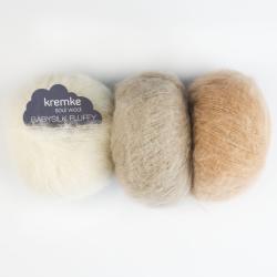 Kremke Soul Wool Baby Silk Fluffy solid