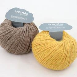 Kremke Soul Wool Strickset Babyalpaka Loop Sommergetreide