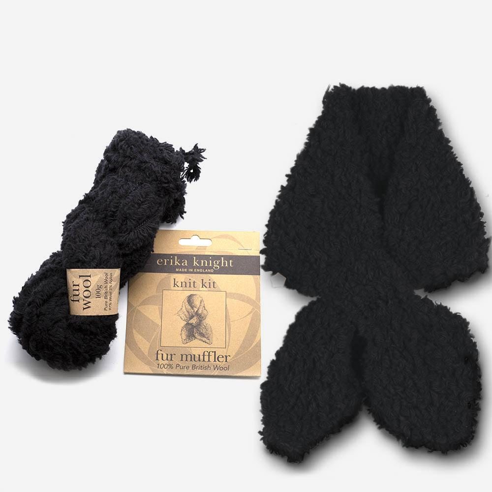 Erika Knight Fur Brim Hat Kit