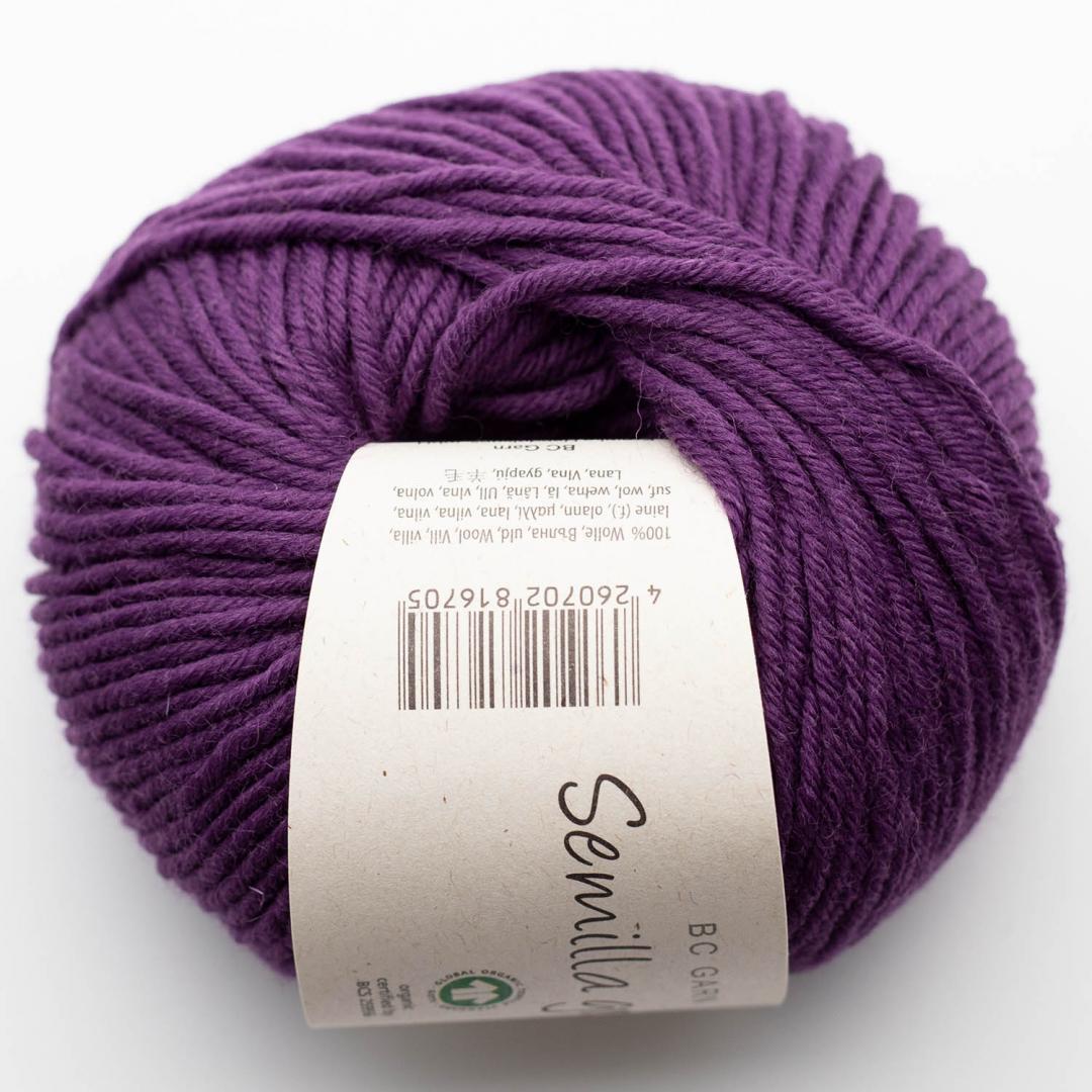 BC Garn Semilla Grosso GOTS Purple