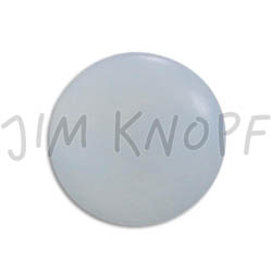 Jim Knopf Colorful buttons made from ivory nut 11mm Hellblau