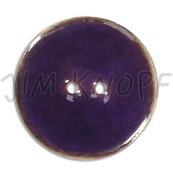 Jim Knopf Coco wood button like ceramics in several sizes Dunkelviolett