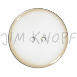 Jim Knopf Coco wood button like ceramics in several sizes Weiss