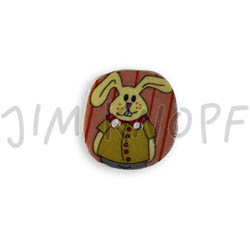Jim Knopf Cocos button easter motivs Hase