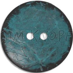 Jim Knopf Cocos button flat 50mm Grau