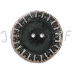 Jim Knopf Button from recycled crown cap 28mm Innen schwarz außen silber