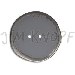 Jim Knopf Button from recycled crown cap used look 30mm Grau