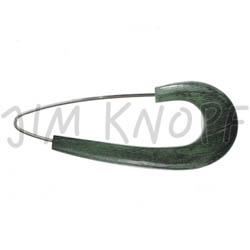 Jim Knopf Horn Needle 88mm Patina
