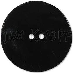 Jim Knopf Agoya shell button in different sizes Schwarz