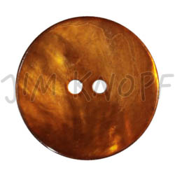 Jim Knopf Agoya shell button in different sizes Orange