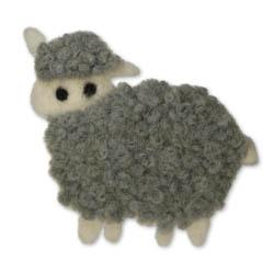 Jim Knopf Felted sheep motivs Elsa