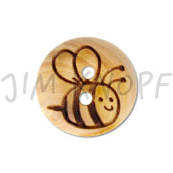 Jim Knopf Wood button mice Tina and Theo Biene