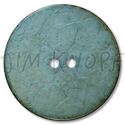 Jim Knopf Coco wood button flat 40mm Grau