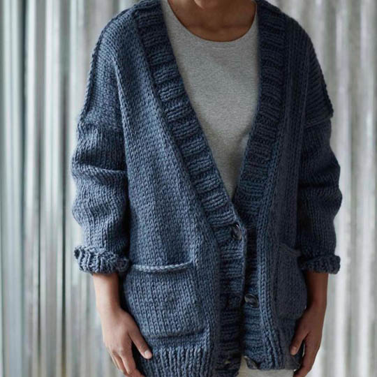 Erika Knight Discounted Printed Patterns for Maxi Wool discontinued designs Maxiwool Five PM Englisch