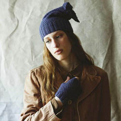 Erika Knight Printed patterns British Blue 100g discontinued designs Vita & Violet ENG