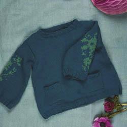 Erika Knight Printed patterns Gossypium discontinued designs Ditzy Gossypium Englisch