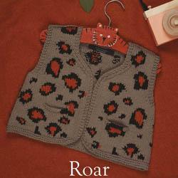 Erika Knight Printed patterns Gossypium discontinued designs Roar Englisch