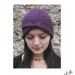 Erika Knight Printed Patterns for Vintage and Fur Wool Urban Turban Englisch Vintage Wool