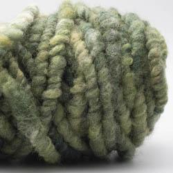 Kremke Soul Wool Rugby Rug Wool dyed Hellgrün-Dunkelgrün