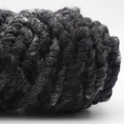 Kremke Soul Wool Rugby Rug Wool dyed Anthrazit-Meliert