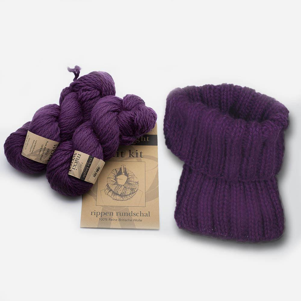 Erika Knight Strickset Rippen-Loop
