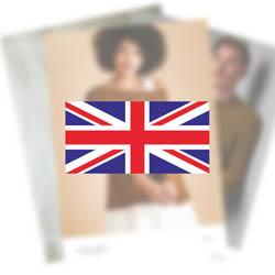 Erika Knight Pattern VIRGINIA for British Blue 100 EK0004 English