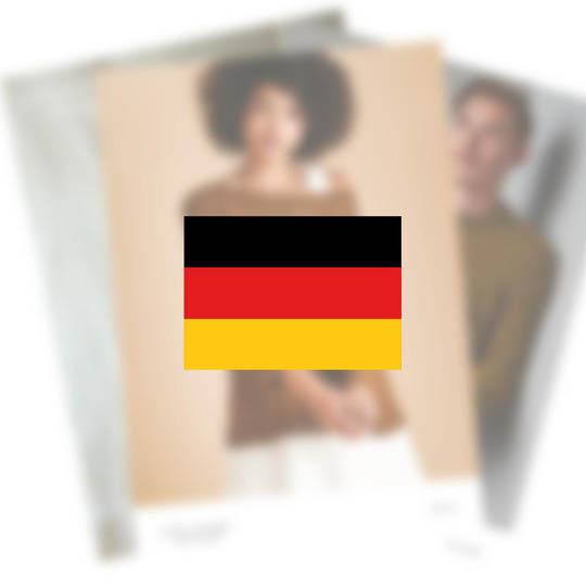Erika Knight Pattern MINARET for Studio Linen EK0019 Deutsch