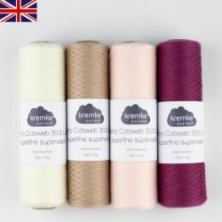 Kremke Soul Wool Kit Shawl Marling in Sequence Flower