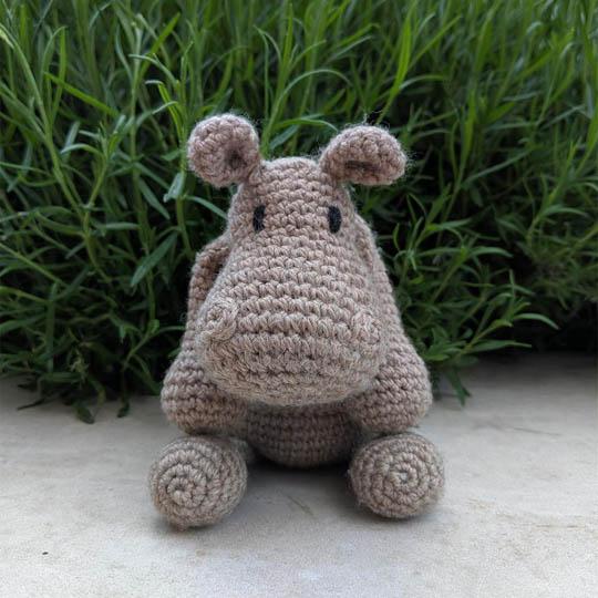 TOFT Georgina the Hippo Georgina Hippo