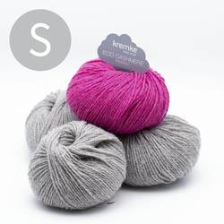 Kremke Soul Wool Strickset Pullover StepUp Grau Pink