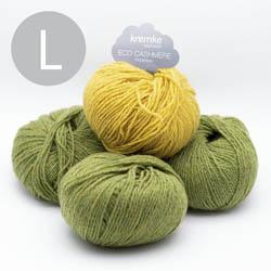 Kremke Soul Wool Strickset Pullover StepUp Grün Messing